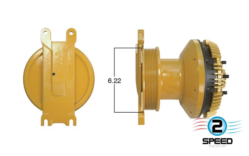 2-Speed Caterpillar Fan Clutch