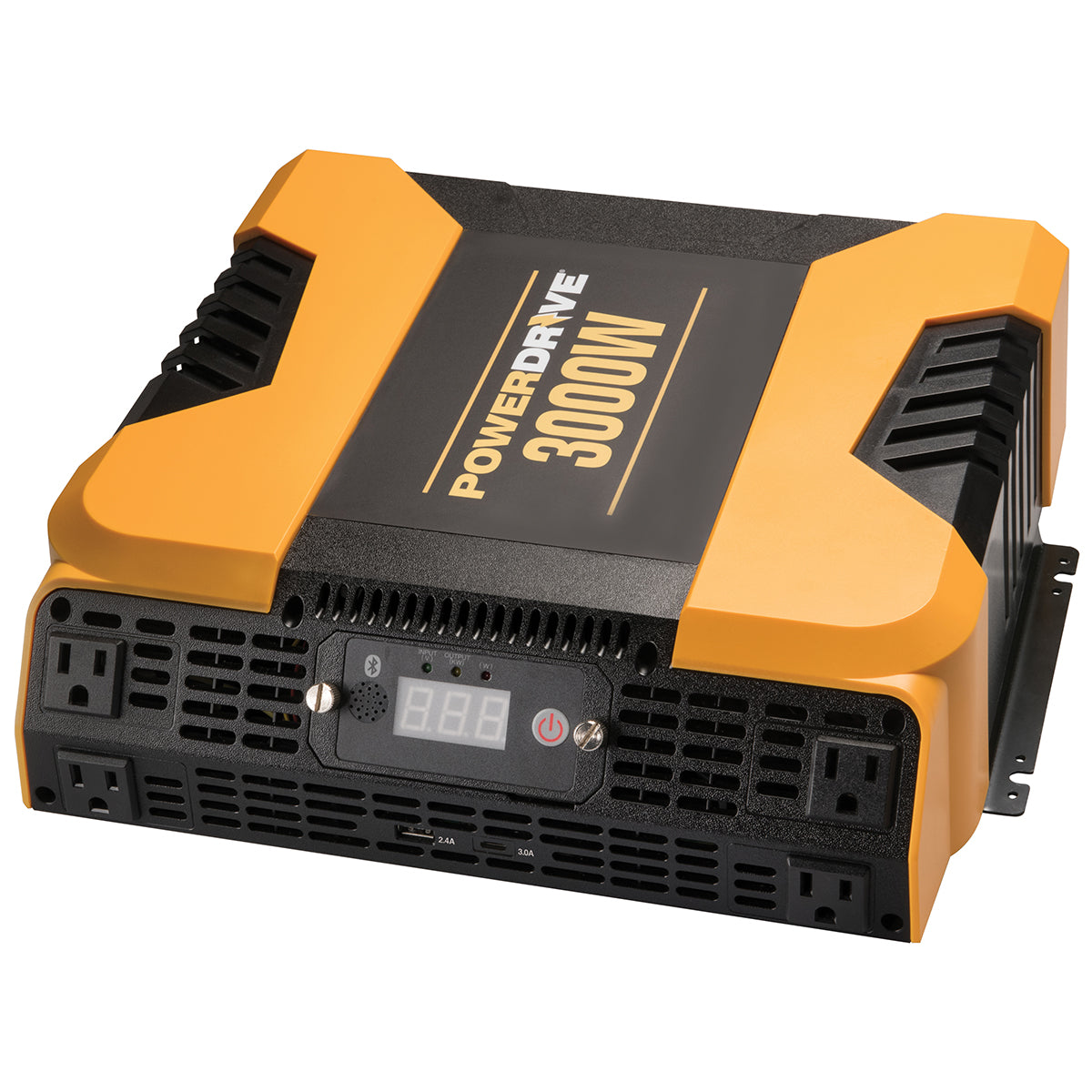 3000 Watt Bluetooth® Power Inverter with 4 AC, 2 USB and APP Interface