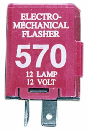 FLASHER 12-LGT ELECTRO-MECH 2-PRONG