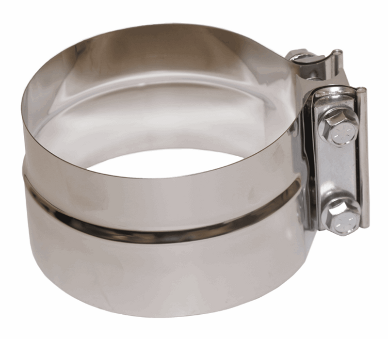 Exhaust Clamp, Stainless Steel  5""