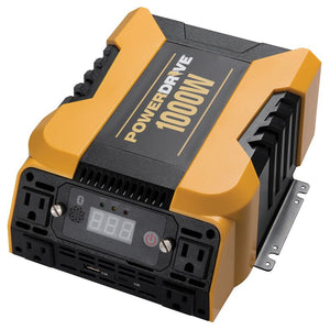 1000 Watt Bluetooth® Power Inverter with 4 AC, 2 USB and APP Interface