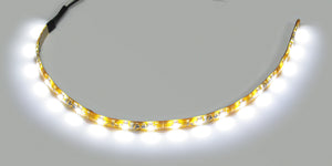 "LED WHT STRIP LGT 12"" LD WIRES ONE END"