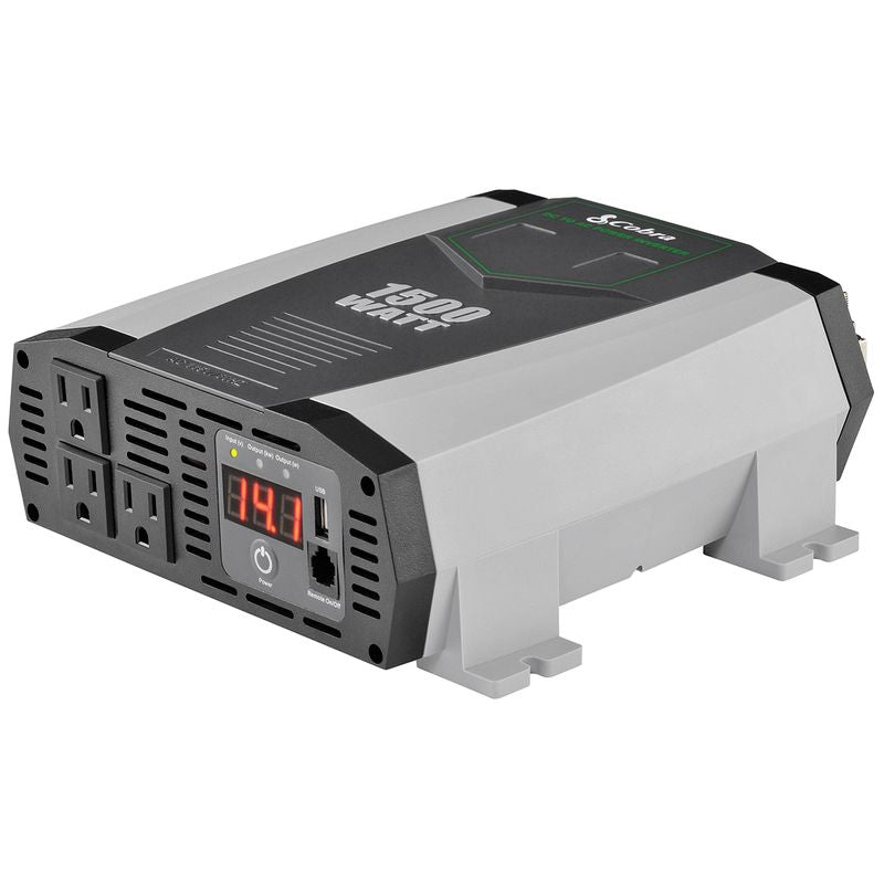 Cobra 1500 Watt 12V Power Inverter CPI-1590