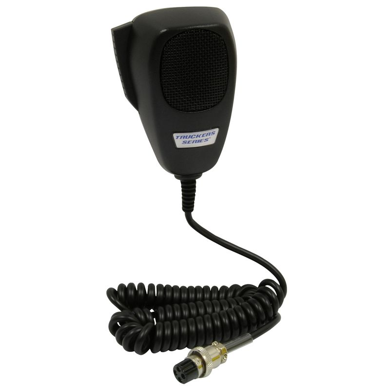 4-Pin Dynamic CB Microphone, Black
