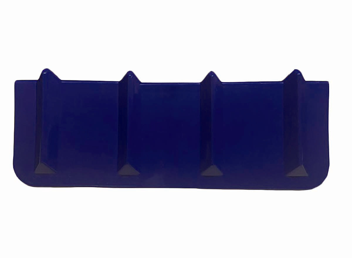 24 IN SUPER GUARD   8 IN X 8 IN X 24 IN BLUE PLASTIC CORNER PROTECTOR