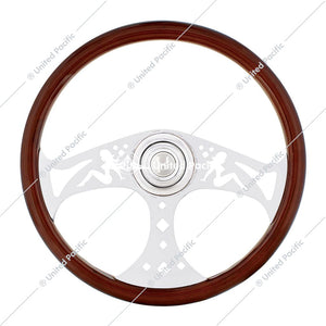 "18"" Lady Steering Wheel w/ Hub - Freightliner 1989-July 2006"