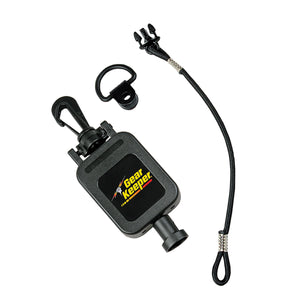 "28"" GearKeeper® Retractable CB Mic Holder with Snap Clip Mount System"