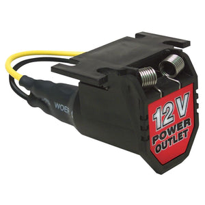 12-Volt Adapter Power Port with 6' Cord