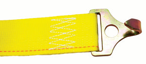 "4K RATCHET STRAP 2""X12' WITH TRAILER PLATE HOOKS"