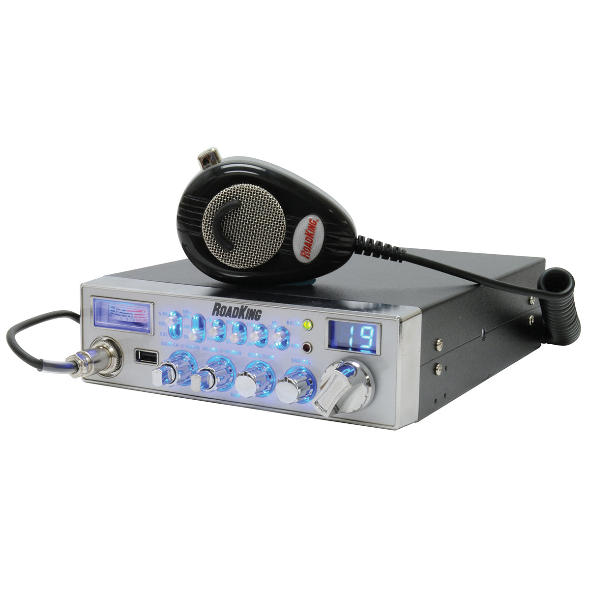 40 Channel CB Radio with USB Port and RK56NC Mic