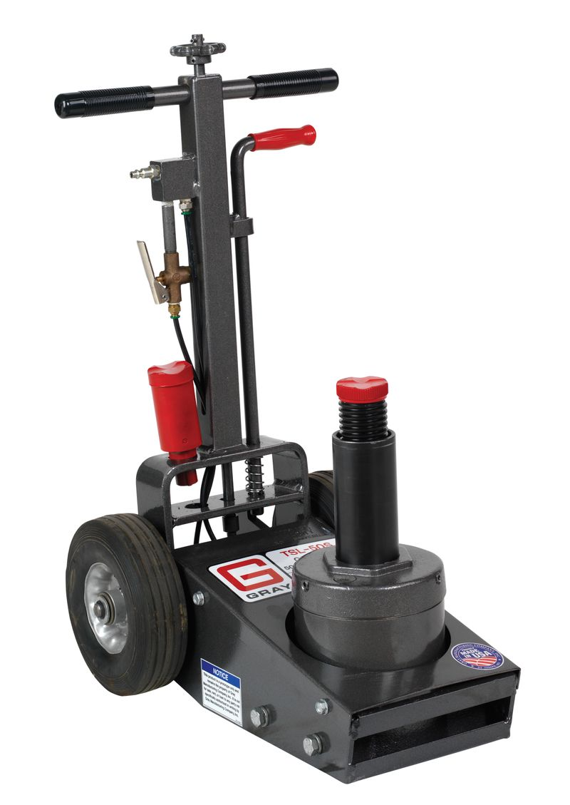 50,000 lb Air/Hyd Truck Service Jack - Short Handle Model