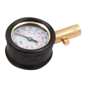 Large Dial Tire Gauge with Durable Housing