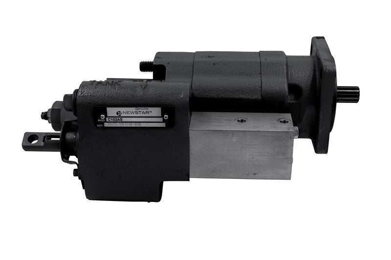 DUMP PUMP, C SERIES DIRECT MOUNT W/ AIR SHIFT CYLINDER