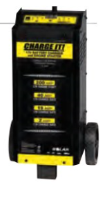 Manual Battery Charger with Engine Start