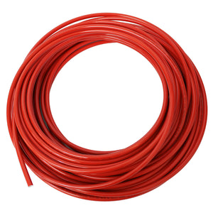 "NYLON TUBING 3/8""OD X 100' COIL RED"