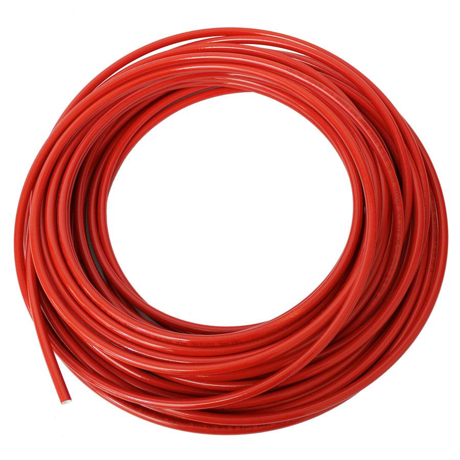 "NYLON TUBING 3/8""OD X 500' COIL RED"