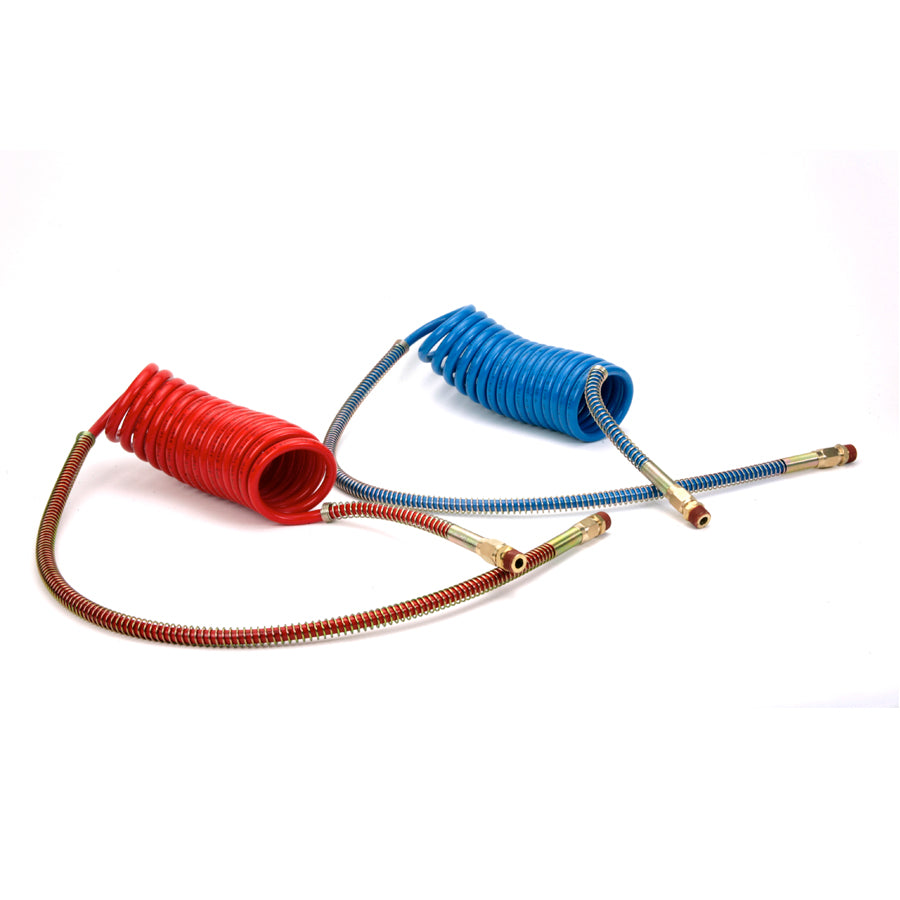 12' COILED NYLON AIR HOSE -EMERGENCY