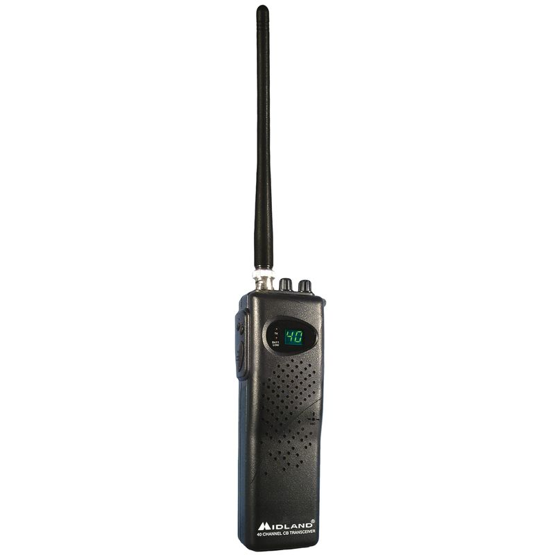 40 Channel Portable Hand-Held CB Radio/Transceiver - 7 Watts