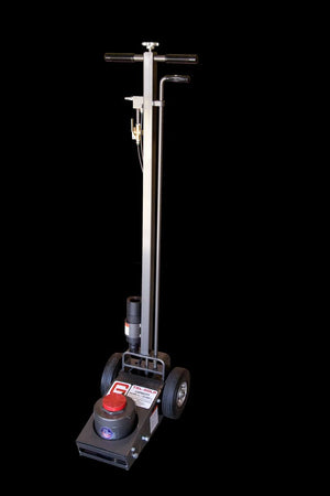 50,000 lb Air/Hyd Truck Service Jack - Large Lift Pad Model