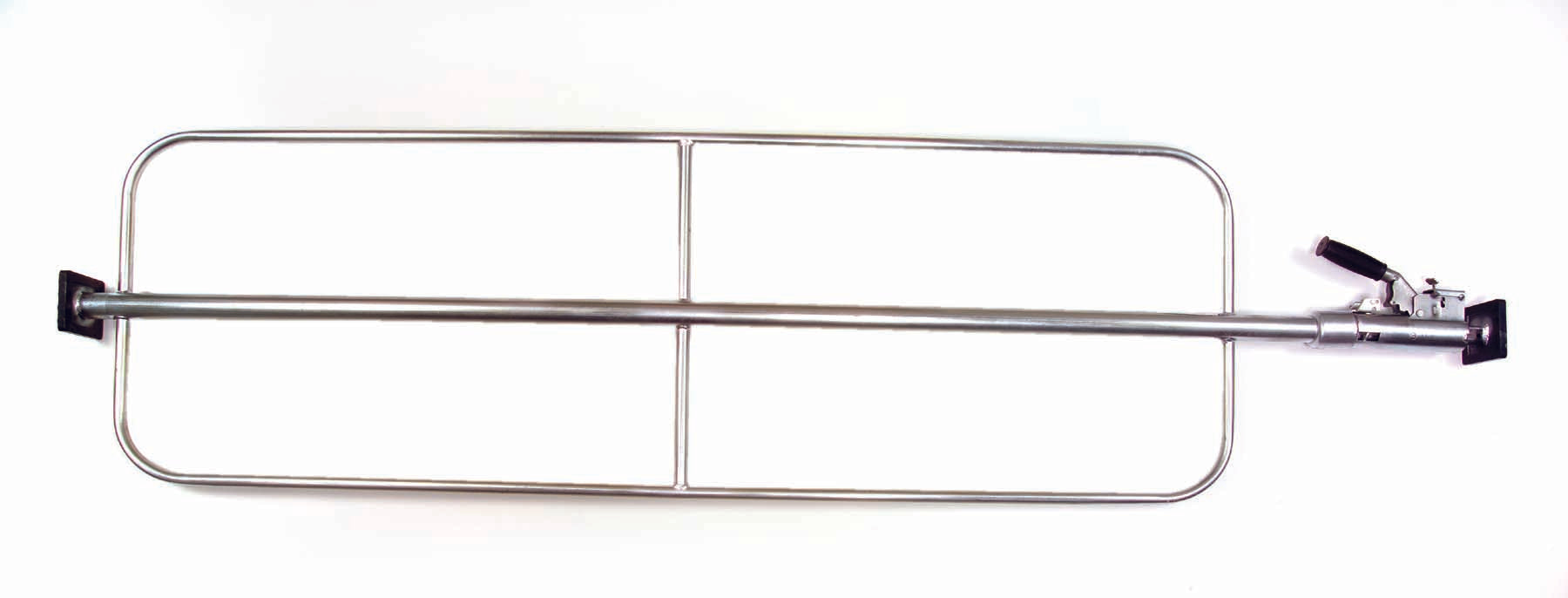 "ECONOMY BAR WITH WELD ON HOOPS - ADJUSTABLE LENGTH 86"" TO 109"""