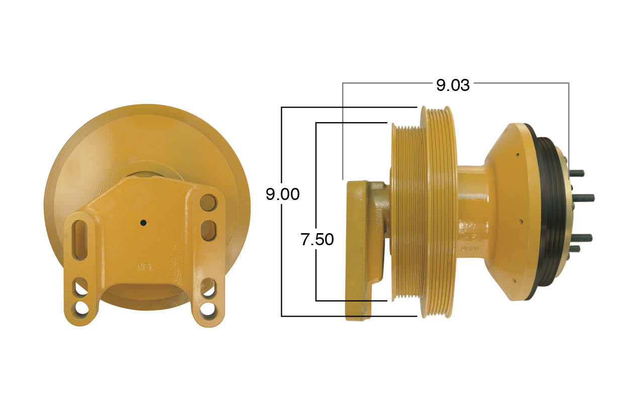 Caterpillar Fan Clutch