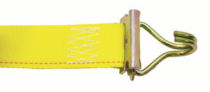 "CAM BUCKLE STRAP 2""X12' WITH E-FITTINGS & F WIRE HOOKS"