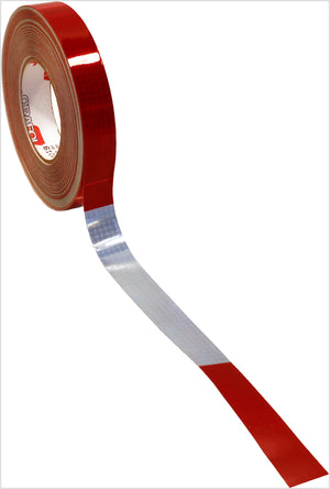 "CONSP TAPE RD/WHT 11/7 1,000 CP 150'L 1""V82"