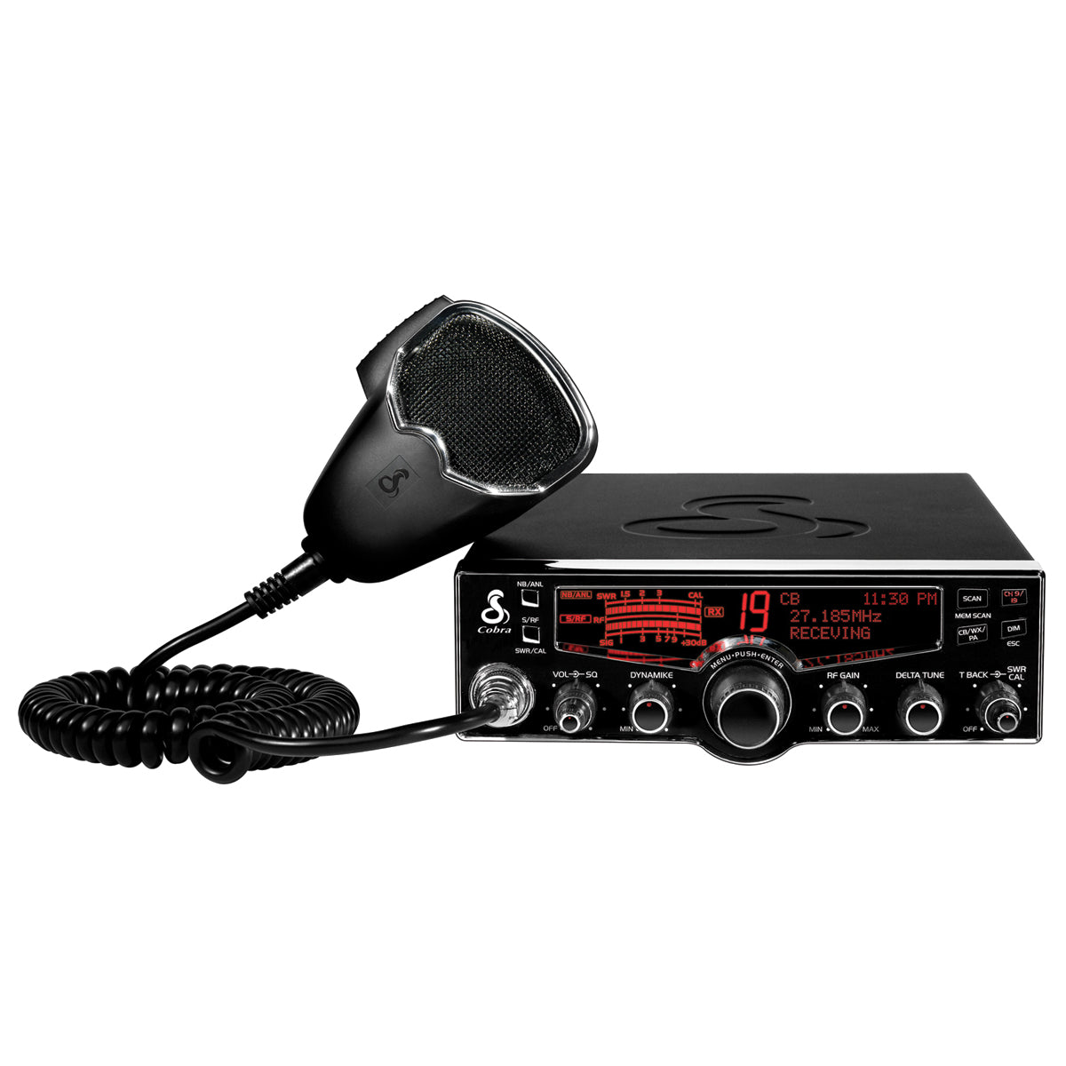 29LX CB Radio with NOAA Weather & 4-Color LCD Display