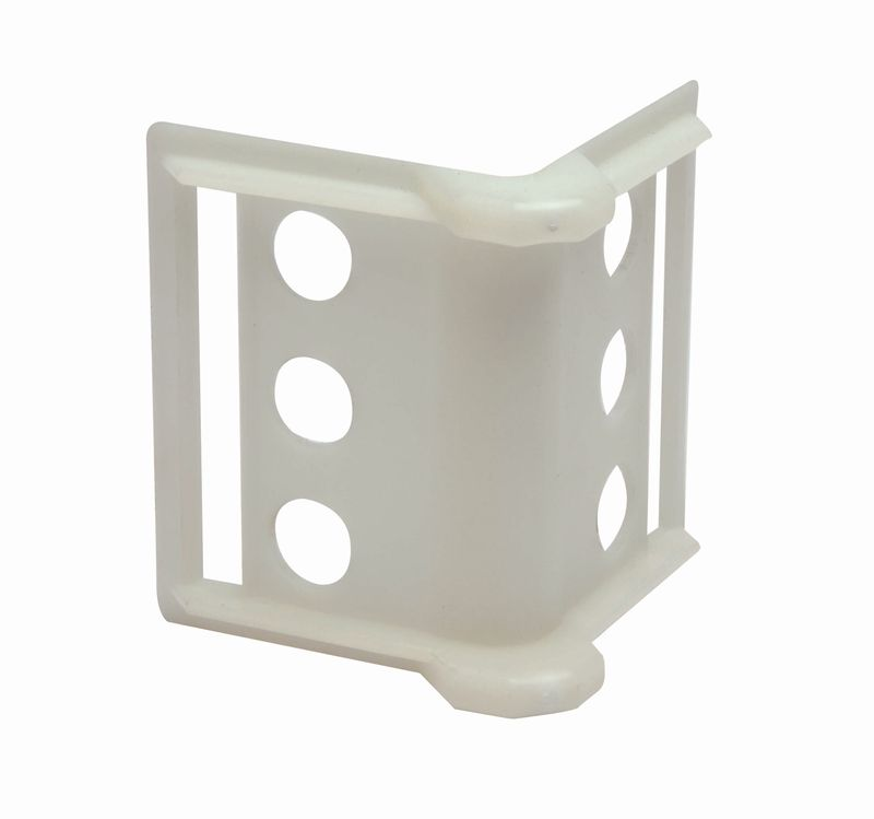 "PLASTIC CORNER PROTECTOR - 2"" TO 4"" WEB - 20 Pack"
