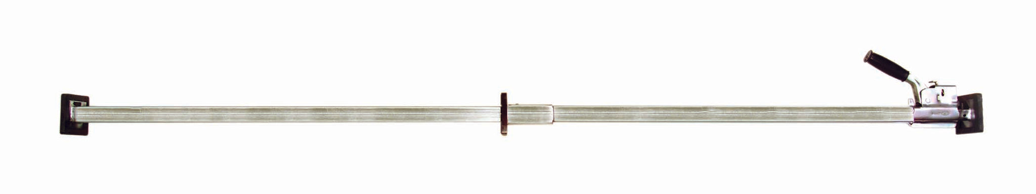 "TWO PIECE BAR WITH CENTER PAD - ADJUSTABLE LENGTH 84"" TO 113"""