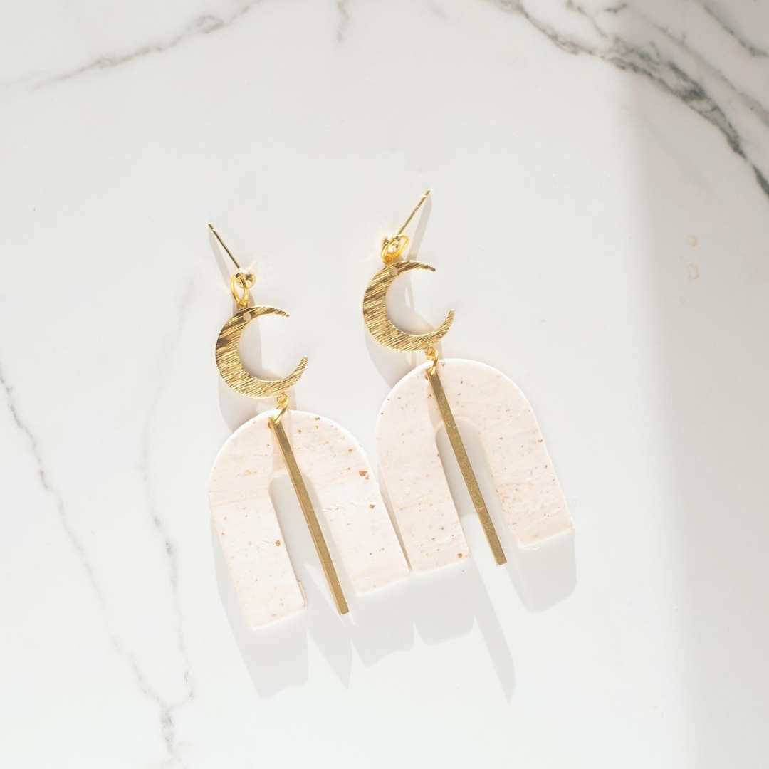 Crescent arch Earrings