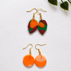 Pumpkin Earrings (Fall collection)