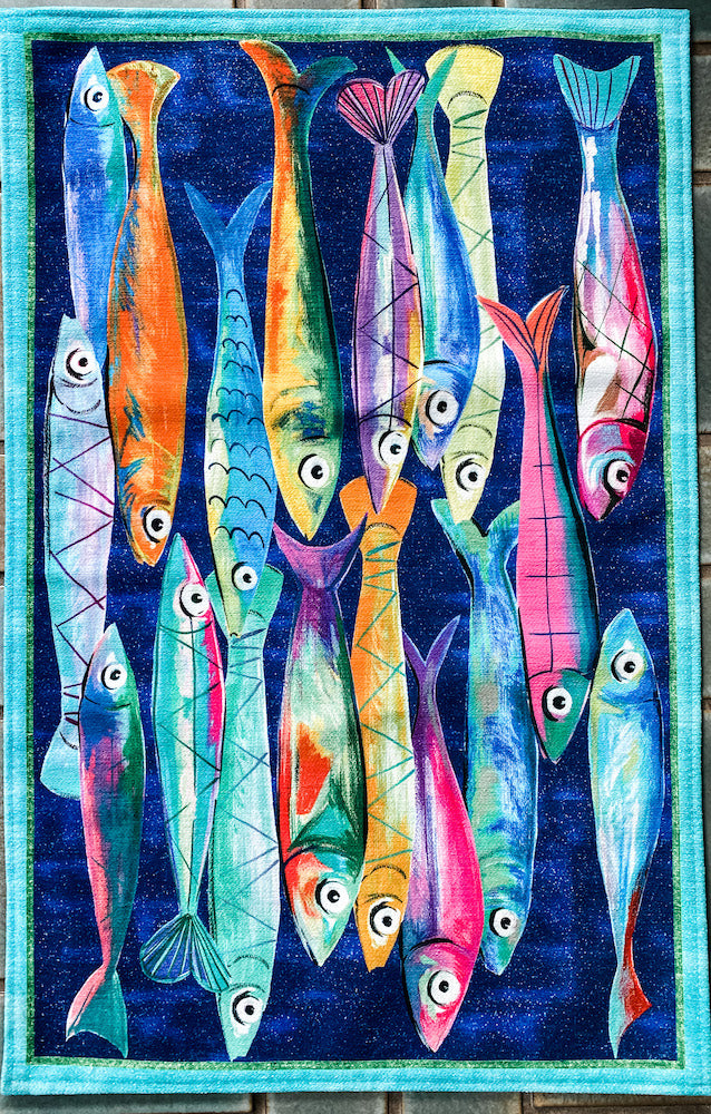 Fish Kitchen Mat