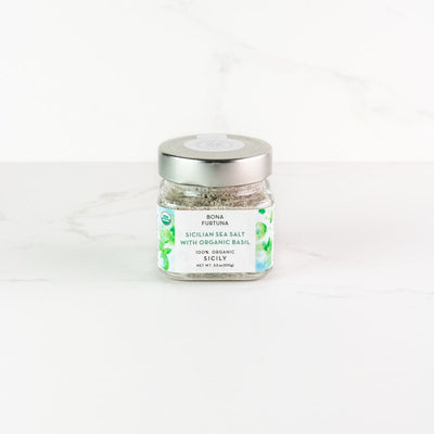 Sicilian Sea Salt with Organic Basil
