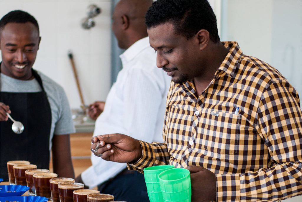 Israel Degfa owns around 20 washing stations in Southern and Western Ethiopia, and is focussing on producing high quality coffees as opposed to solely large volumes.