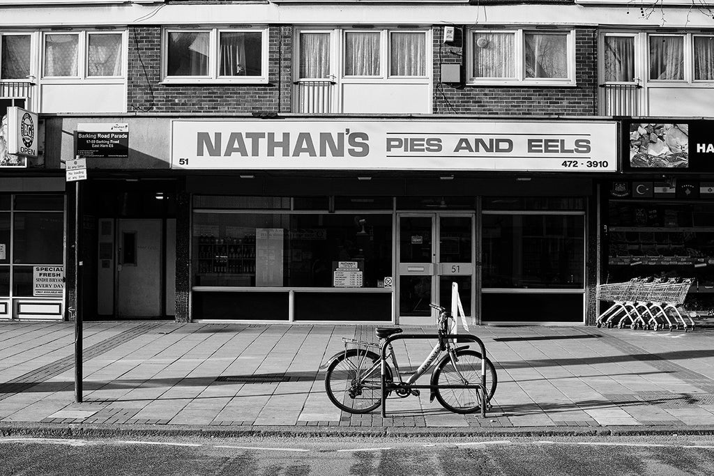 Nathan's Pies and Eels photographed for Pie & Mash, 2015.