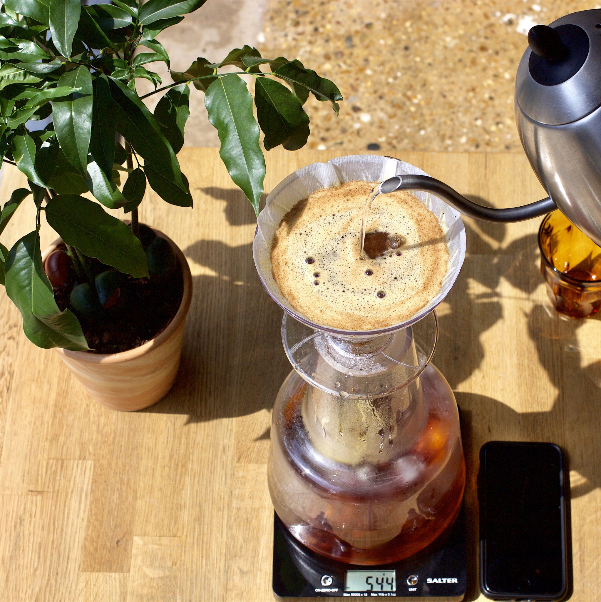 Brewing Iced Filter Coffee At Home Workshop Coffee