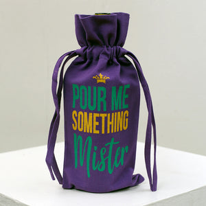 Pour Me Something Mister Wine Bag