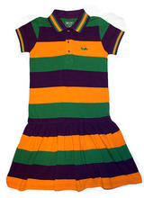 Load image into Gallery viewer, PGG Polo Short Sleeve Dress with Crown Logo - Youth