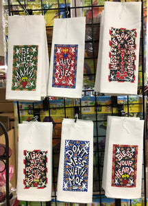 Streetcar Desire kitchen towel by Simon