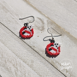Ghostbusters Inspired Earrings