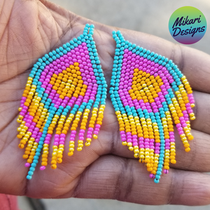 Carol Fringe Earrings