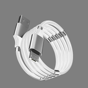 ⭐⭐⭐⭐⭐Self Winding Charging Phone Cable