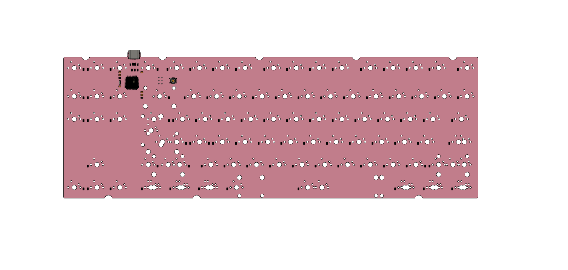 [GB] Extra e.88 Pink PCB