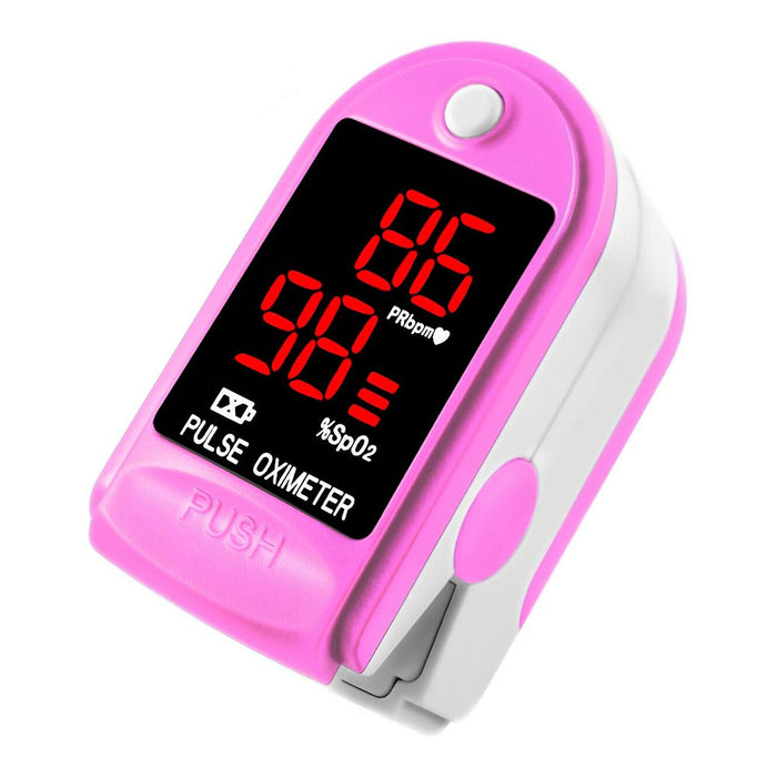 Heal Force CMS50DL Finger Pulse Oximeter, Handheld Blood Oxygen Saturation (SpO2) and Pulse Rate (bpm) Monitor, FDA&CE Certificated