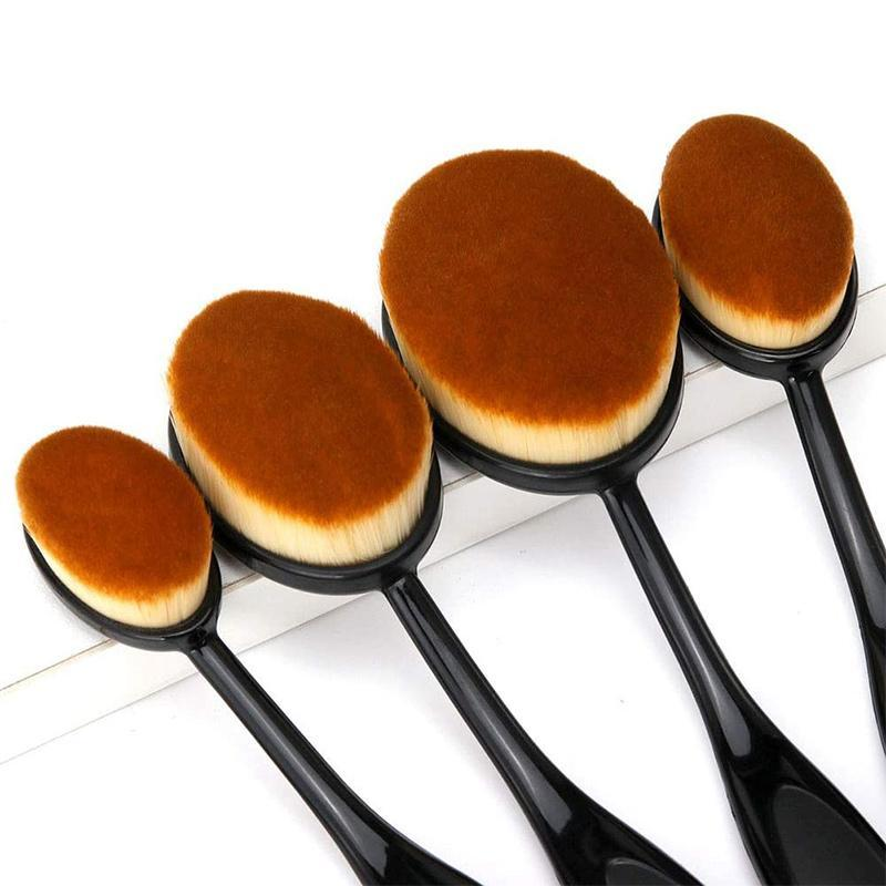 Ovale Make-up Pinsel Set