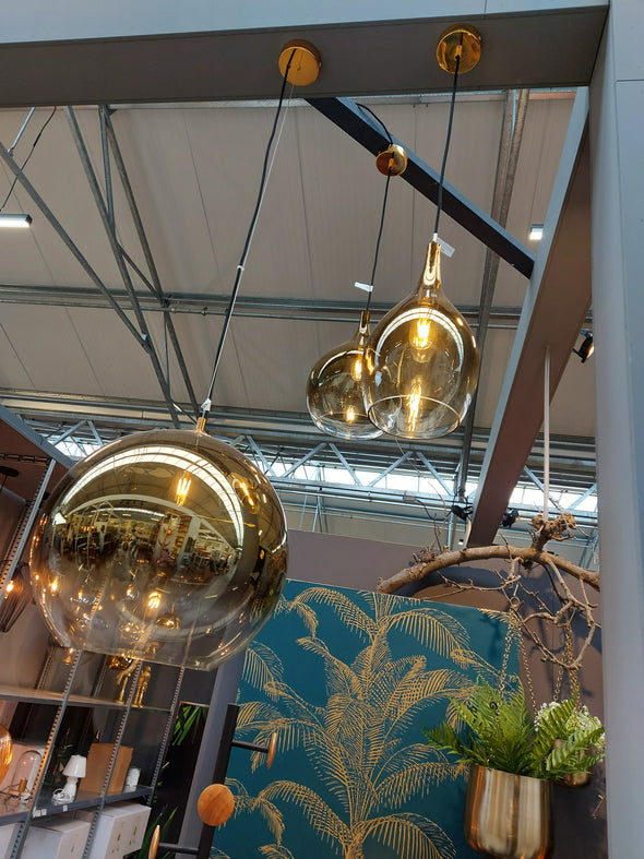 Hanglamp Pendant Lamp Drup Shadow Gold