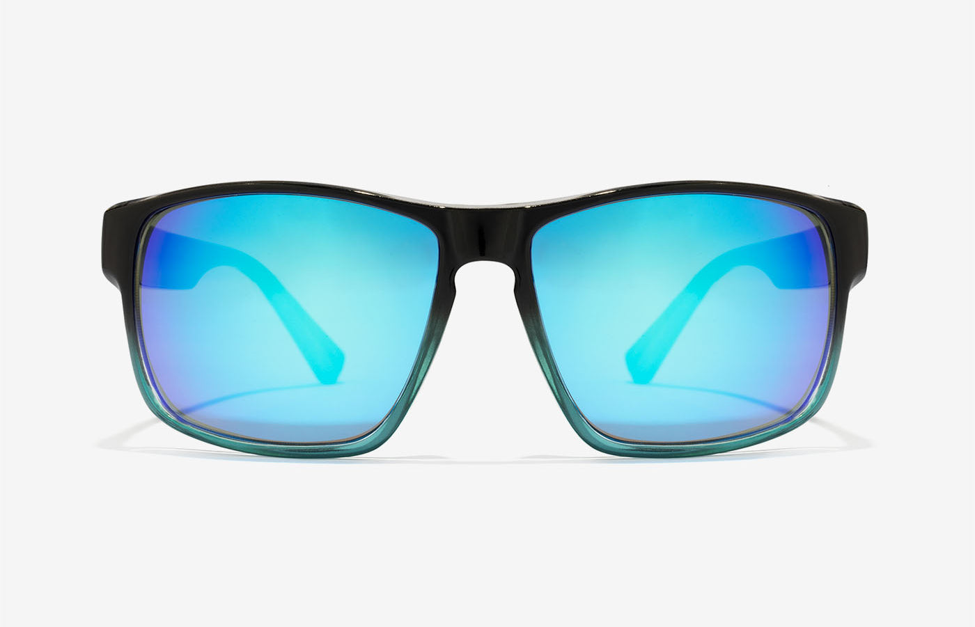 d9380dd841 Gafas de sol rectangulares   Fusion Clear Blue Faster   Hawkers CO
