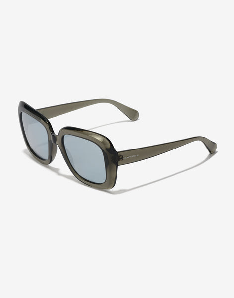 Gafas de sol Grey Chrome Butterfly vista lateral
