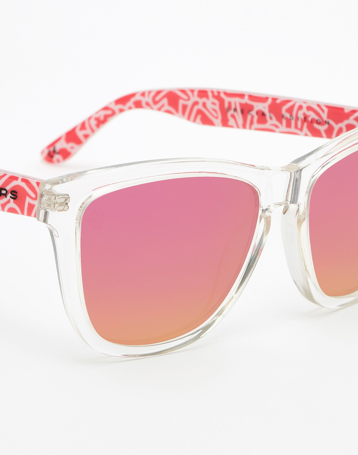 Keith Haring x Hawkers · Air Fuchsia